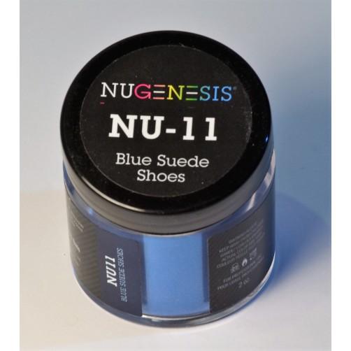 NU11 Blue Sued Shoes